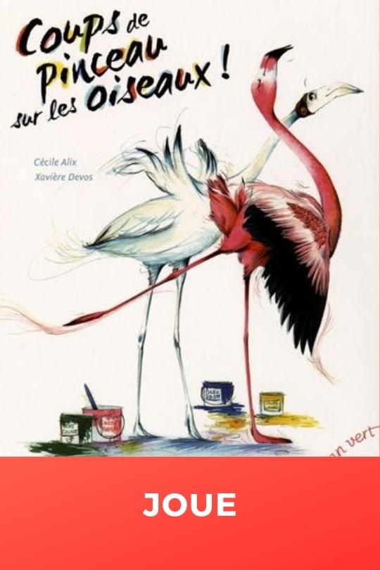 Coups de pinceau sur les oiseaux